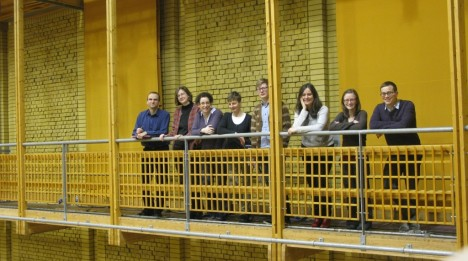 BCMG Team in CBSO Centre