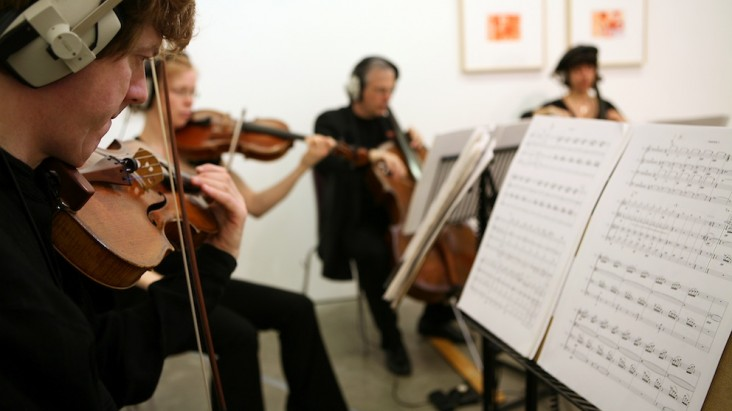 BCMG performing Kevin Volans The Partenheimer Project at Ikon Gallery