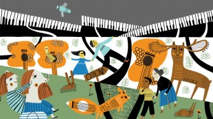 Family Concerts Pathways and Places illustration