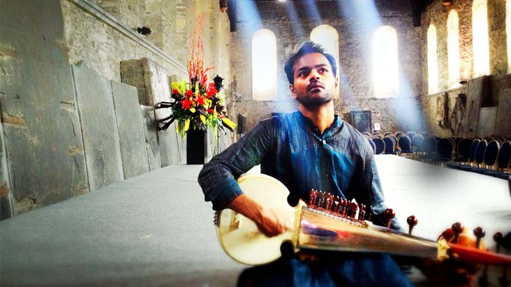 Soumik Datta in a Cathedral