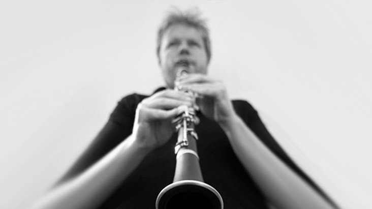 Clarinettist  Timothy Lines