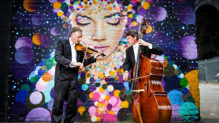 CBSO musicians in Birmingham Weekender promotional image