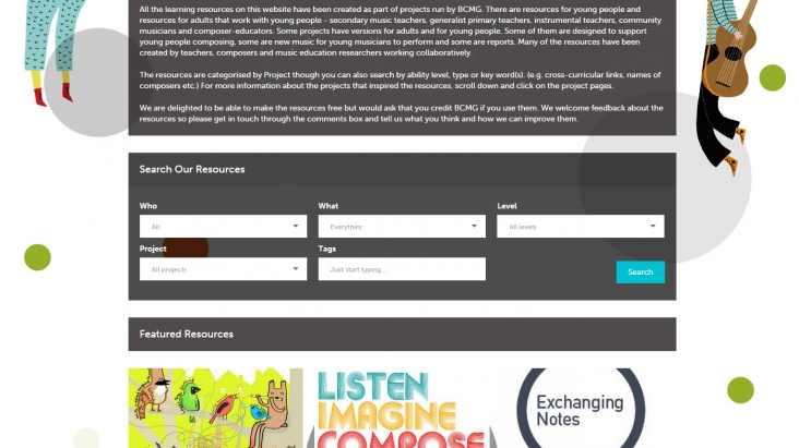 Learning Resources site screenshot