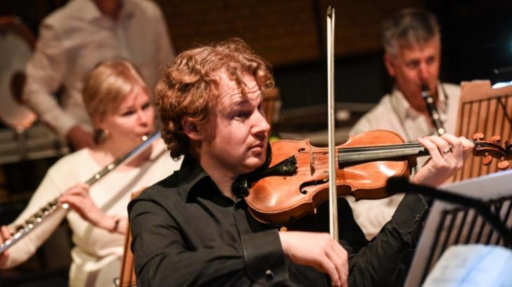 BCMG musicians in concert