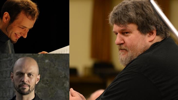 A trio of new commissions - Adamek, Baker, Knussen